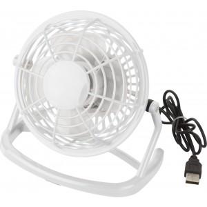 Műanyag asztali ventilátor USB csatlakozóval
